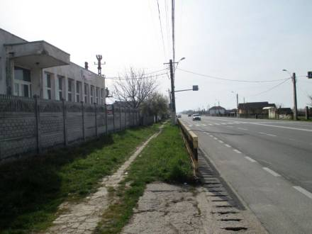 Spatiu industrial situat stradal, in com. Bradesti